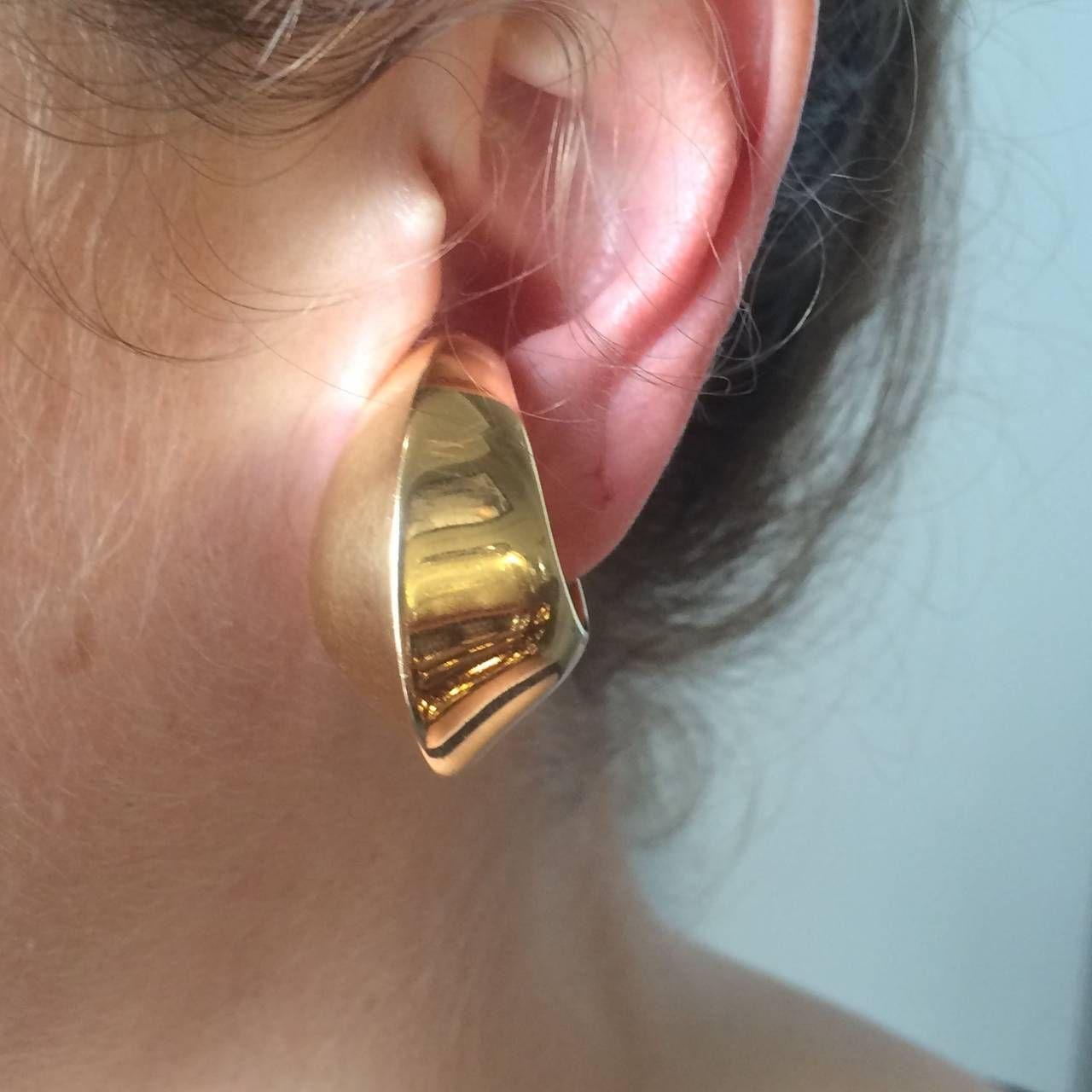 Georg jensen gold ear cuffs no 1126 by nanna ditzel 18k gold and georg jensen 18k los puos odo del oro n 1126 por nanna ditzel 5 ear cuffsgold baditri Choice Image
