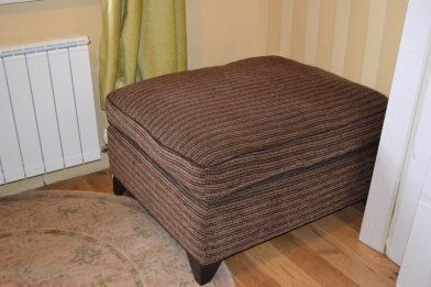 Footstool with folding single bed inside - Footstool with folding single bed inside. Brand new. Ne...