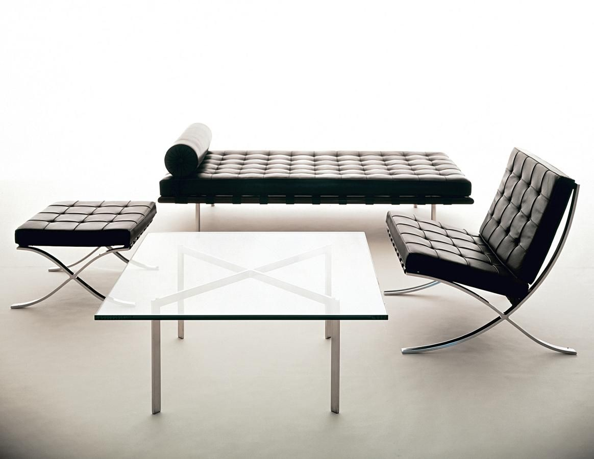 Mies Van Der Rohe Barcelona Chair Couch Stool And Table Knoll