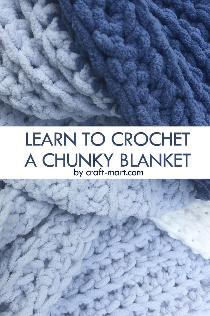 Photo of Learn to Crochet a Chunky Blanket