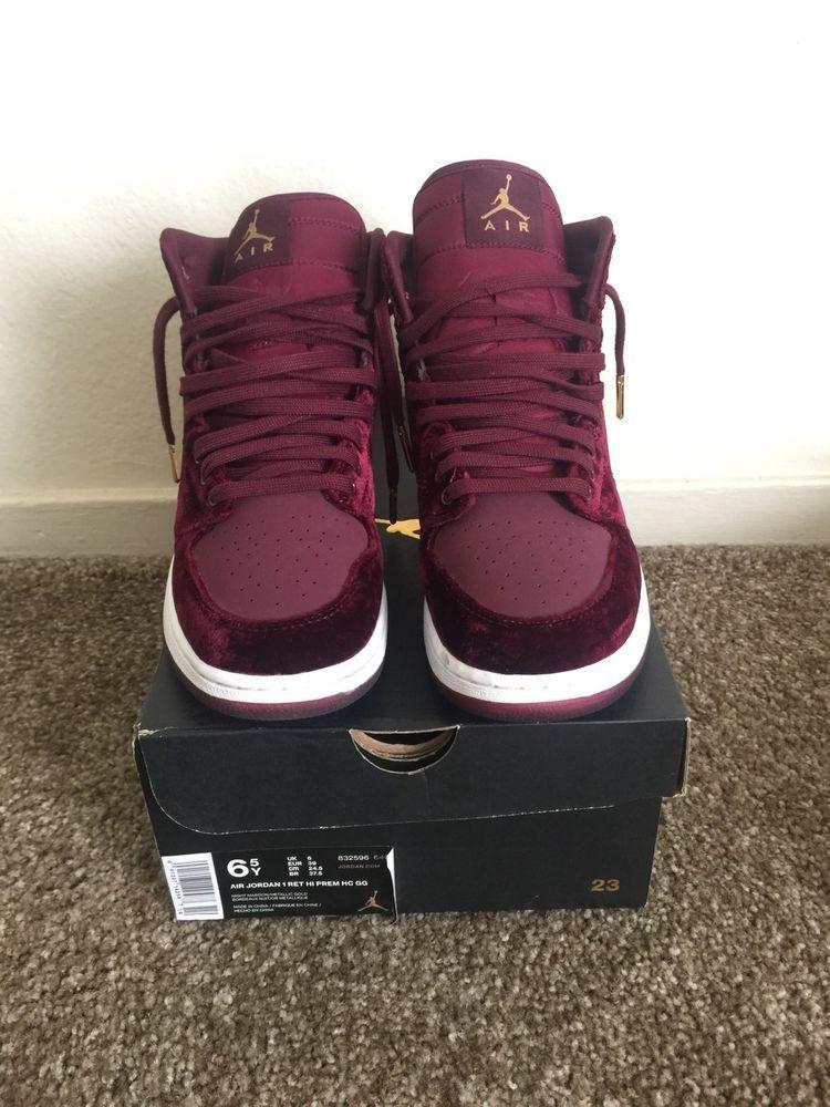 66da4194605c Nike Air Jordan 1 Retro High Premium HC GG 6.5Y 832596-640 Velvet Heiress   Jordan  BasketballShoes