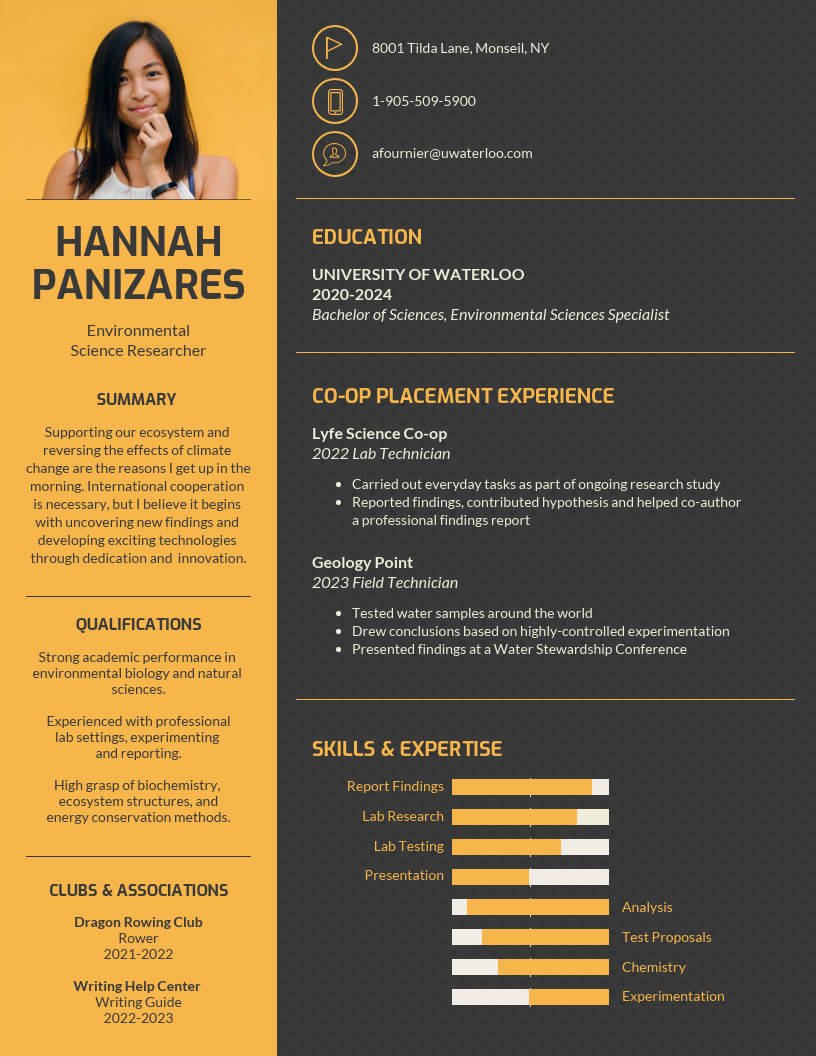 Engaging College Student Resume Template Student Resume Template Student Resume Visual Resume