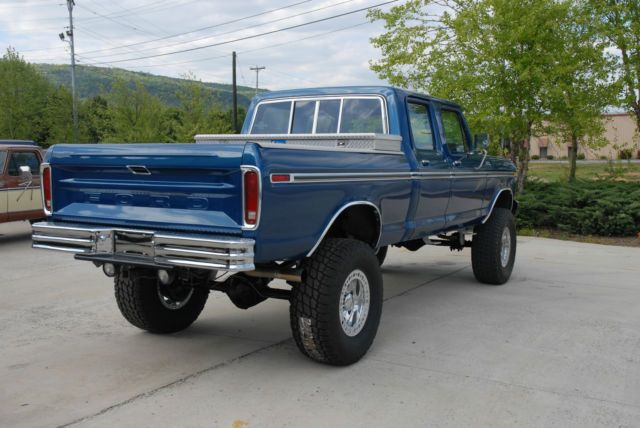 1978 Ford F 250 Blue Blue In 2020 F250 Ford Ford Trucks