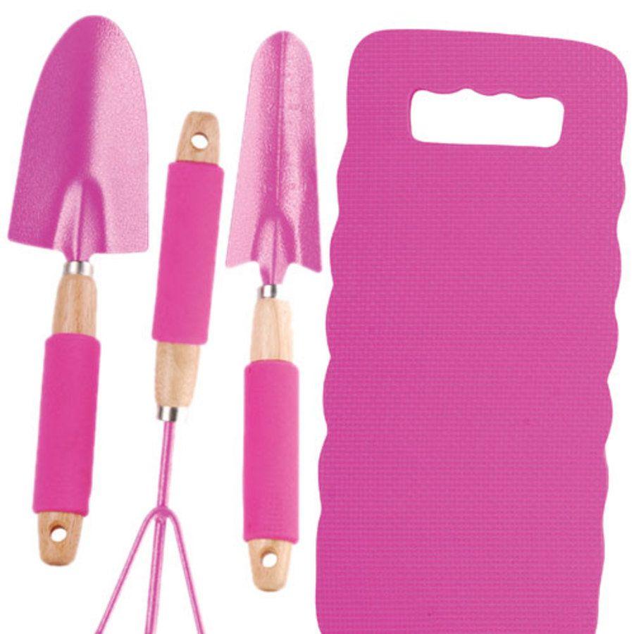 Superieur Pink Kneeling Pad Tool Set