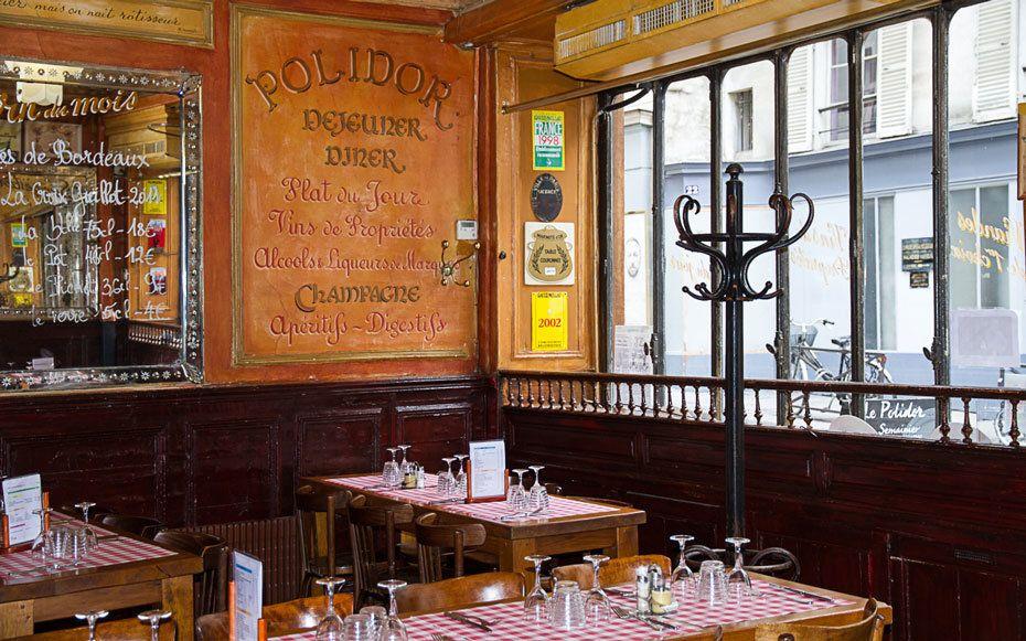 Cremerie Restaurant Polidor Paris