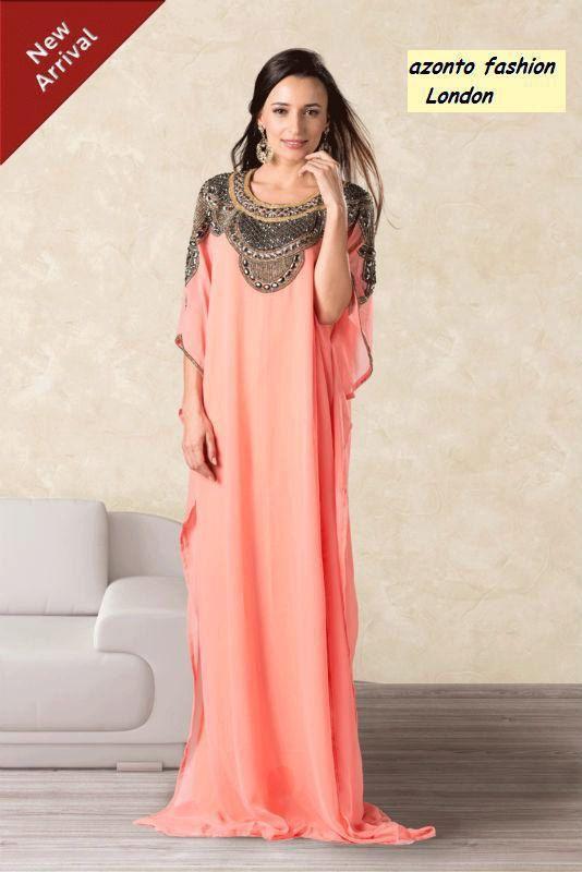 0796ca3c2a0cd Latest Dubai   Morrocan style KAFTANS  abaya jalabiya Ladies Maxi Dress(D-7760)  5% Off. on Etsy