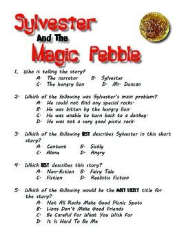 Sylvester And The Magic Pebble - Book Test & Bonus Book