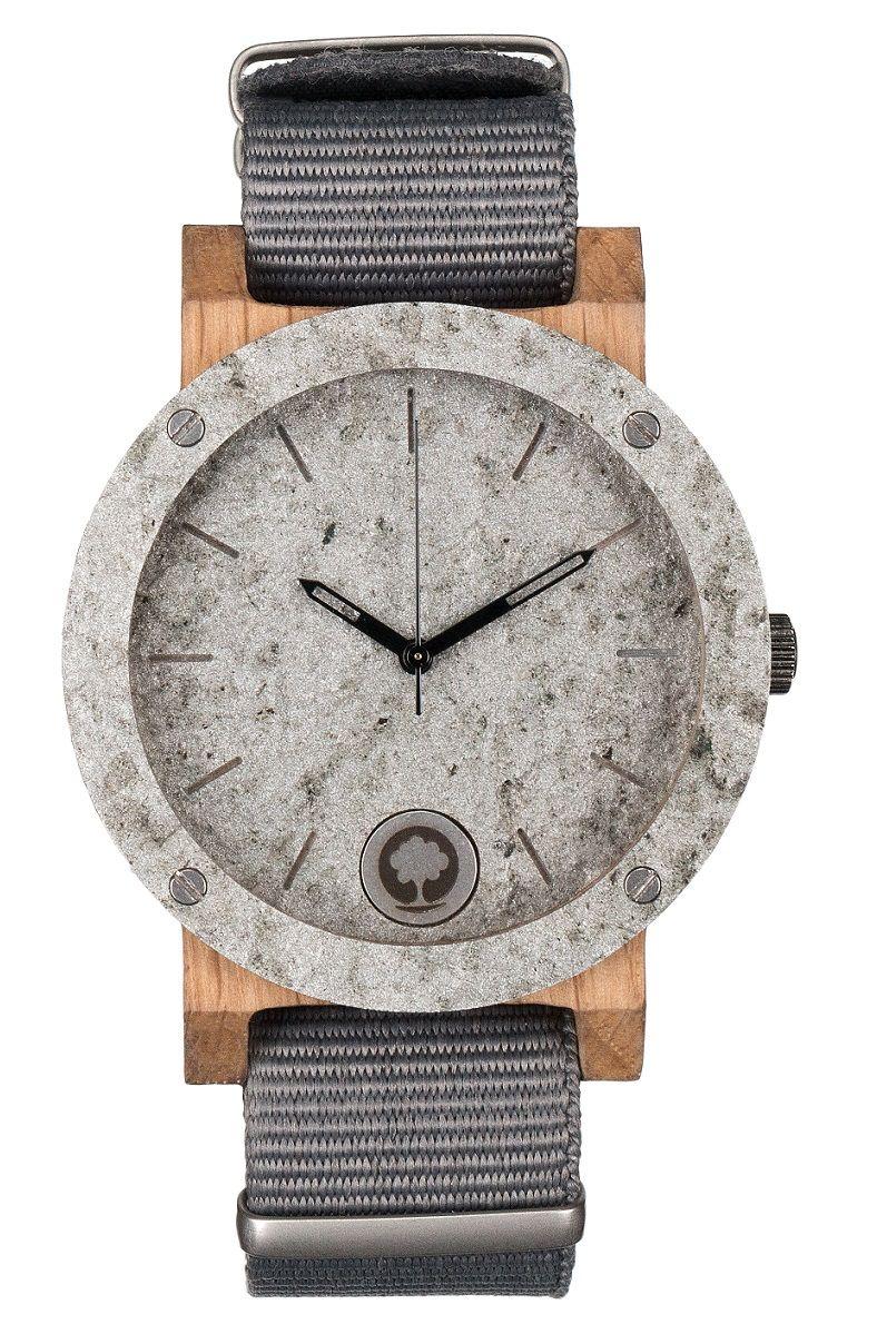 Stone Watch Series Double Raw Woodamp; Silver Oak R4AjL3q5