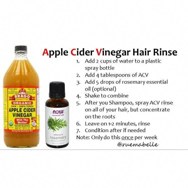 Diyhealthyhairtips Apple Cider Vinegar Hair Rinse Vinegar For Hair Vinegar Hair Rinse