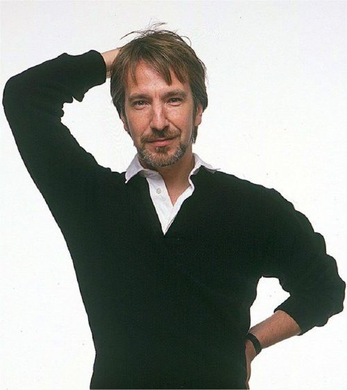 1989 - Alan Rickman. From a photo-shoot for People Magazine.