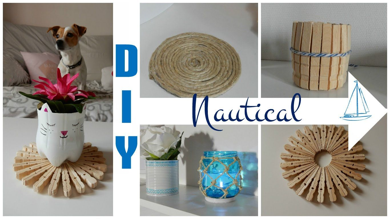 Image Result For Diy Nautical Theme Decorations Ideas Diy Summer Room Decor