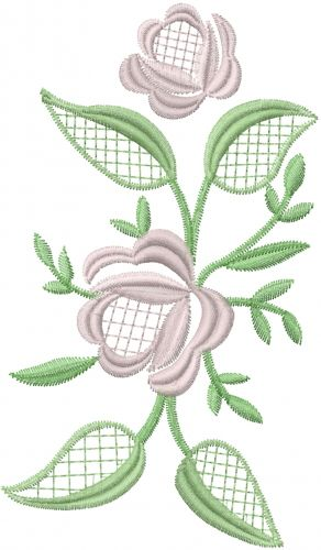 Free Flowers Row Embroidery Design Annthegran Free Embroidery