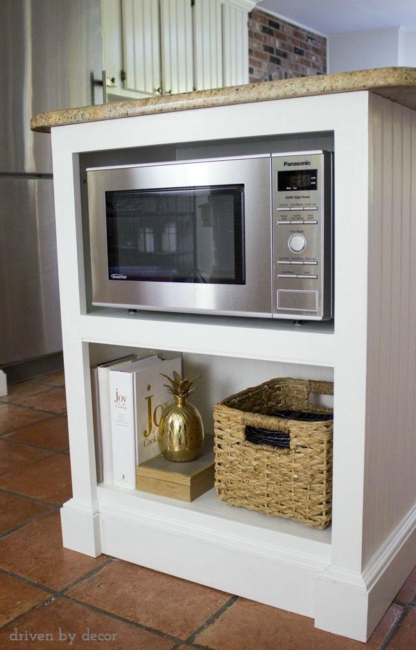 10 best microwave in base cabinet ideas