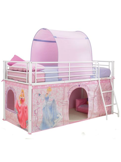 Disney Princess Mid-Sleeper Cabin Bed Tent Pack  sc 1 st  Pinterest : cabin beds with tents - memphite.com