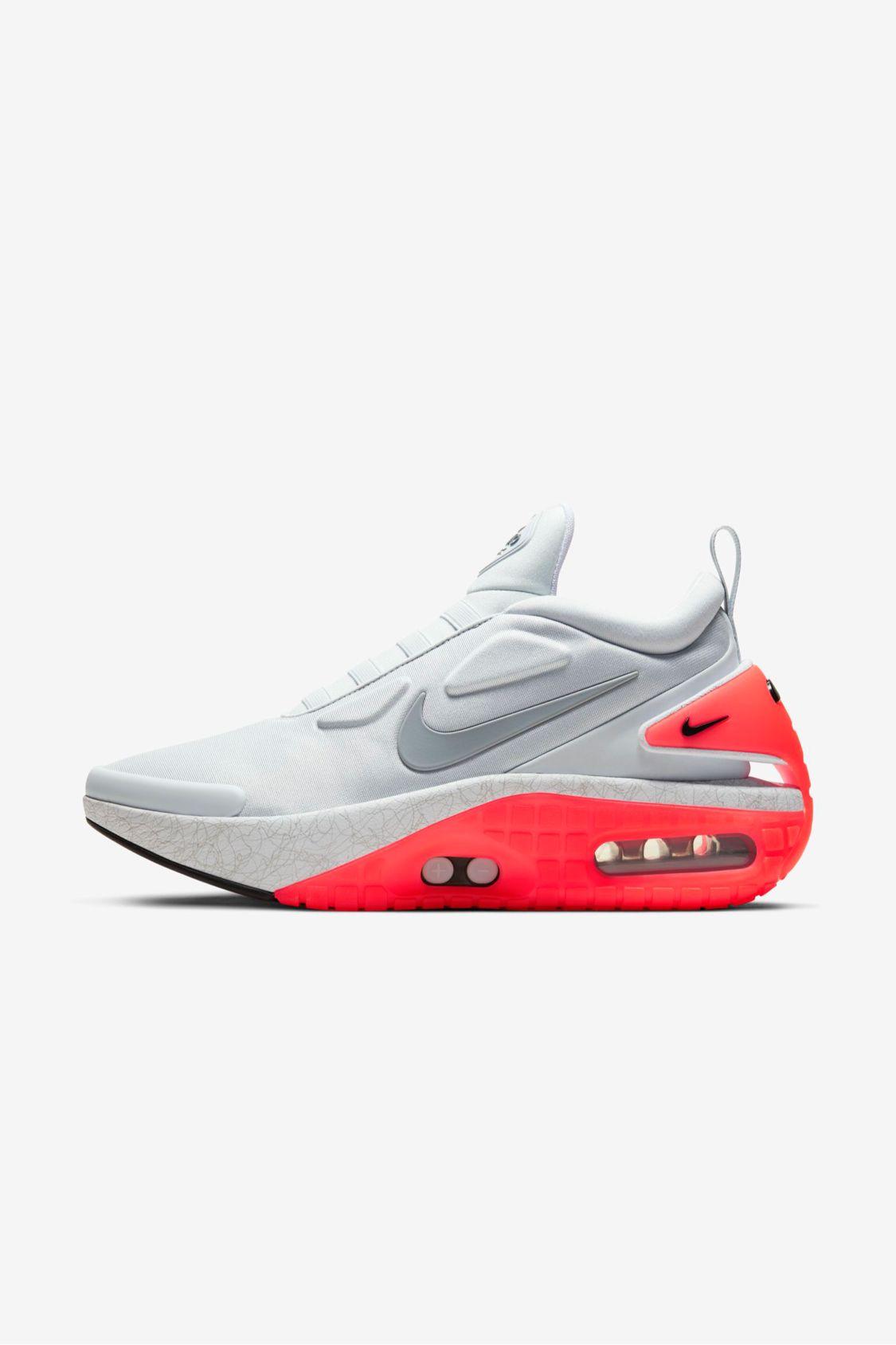 Experto Estado marca  Via Nike SNEAKRS: https://www.nike.com/gb/launch/t/adapt-auto-max-pure-platinum-uk?sitesrc=sneakrsIosShare  in 2020 | Sneakers men fashion, Nike snkrs, Sneakers