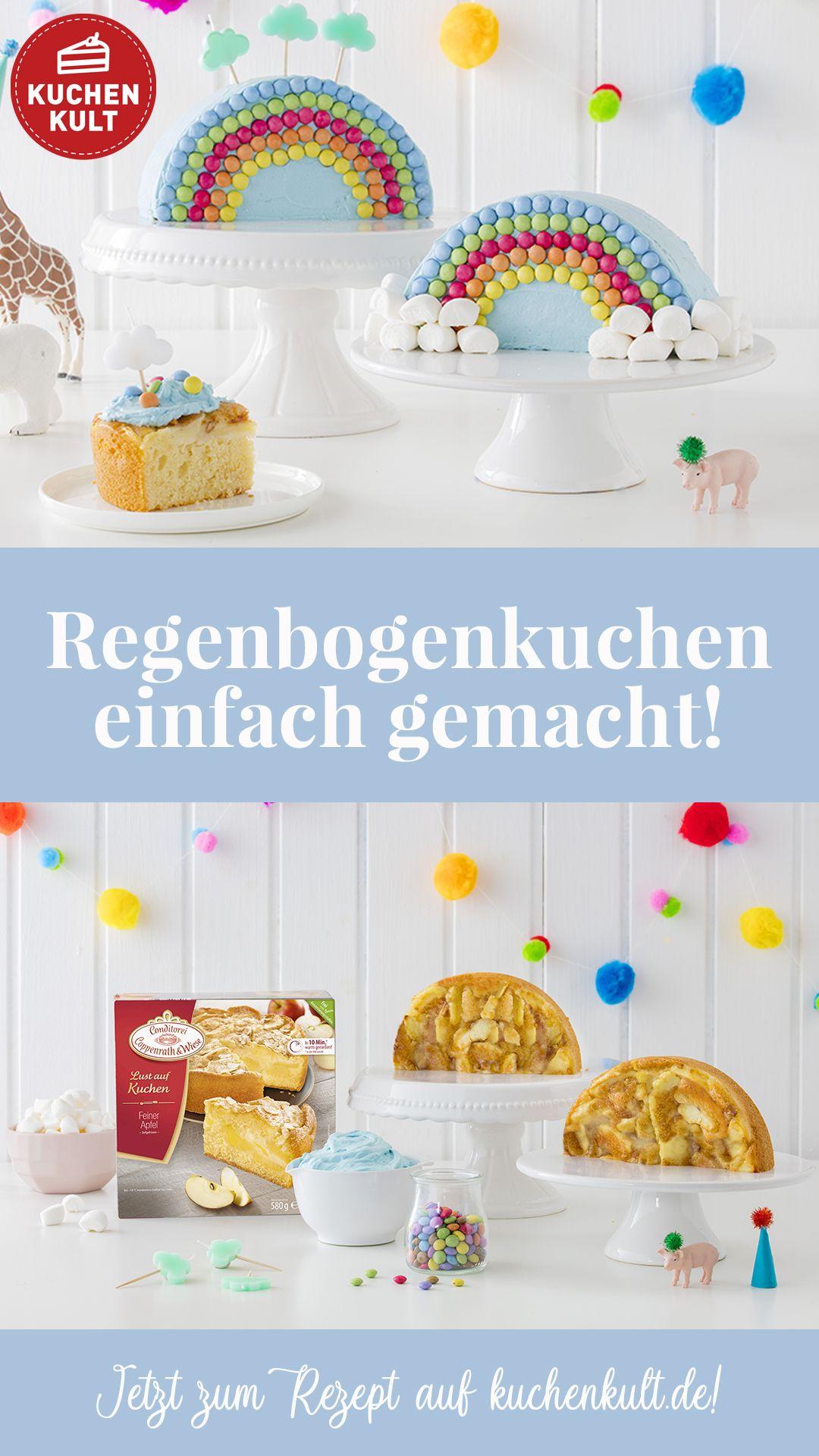 Regenbogenkuchen Leicht Mit Kindern Zu Verzieren In 2020 Kuchen Kindergeburtstag Kinder Geburtstag Essen Kindergeburtstag Essen