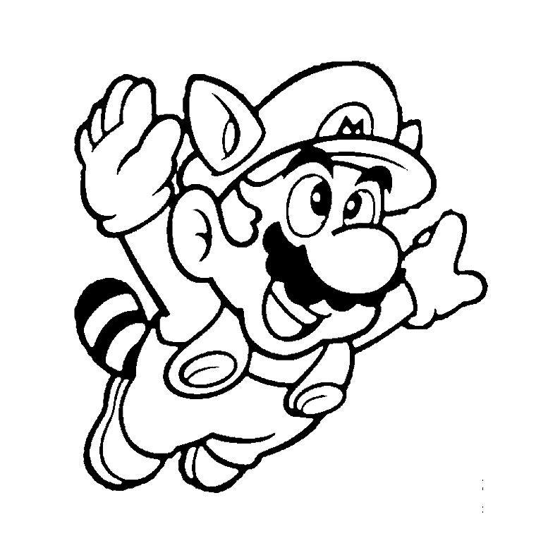 Coloriage Super Mario Bros A Imprimer Gratuit Coloring