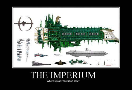 Federation vs Warhammer 40K