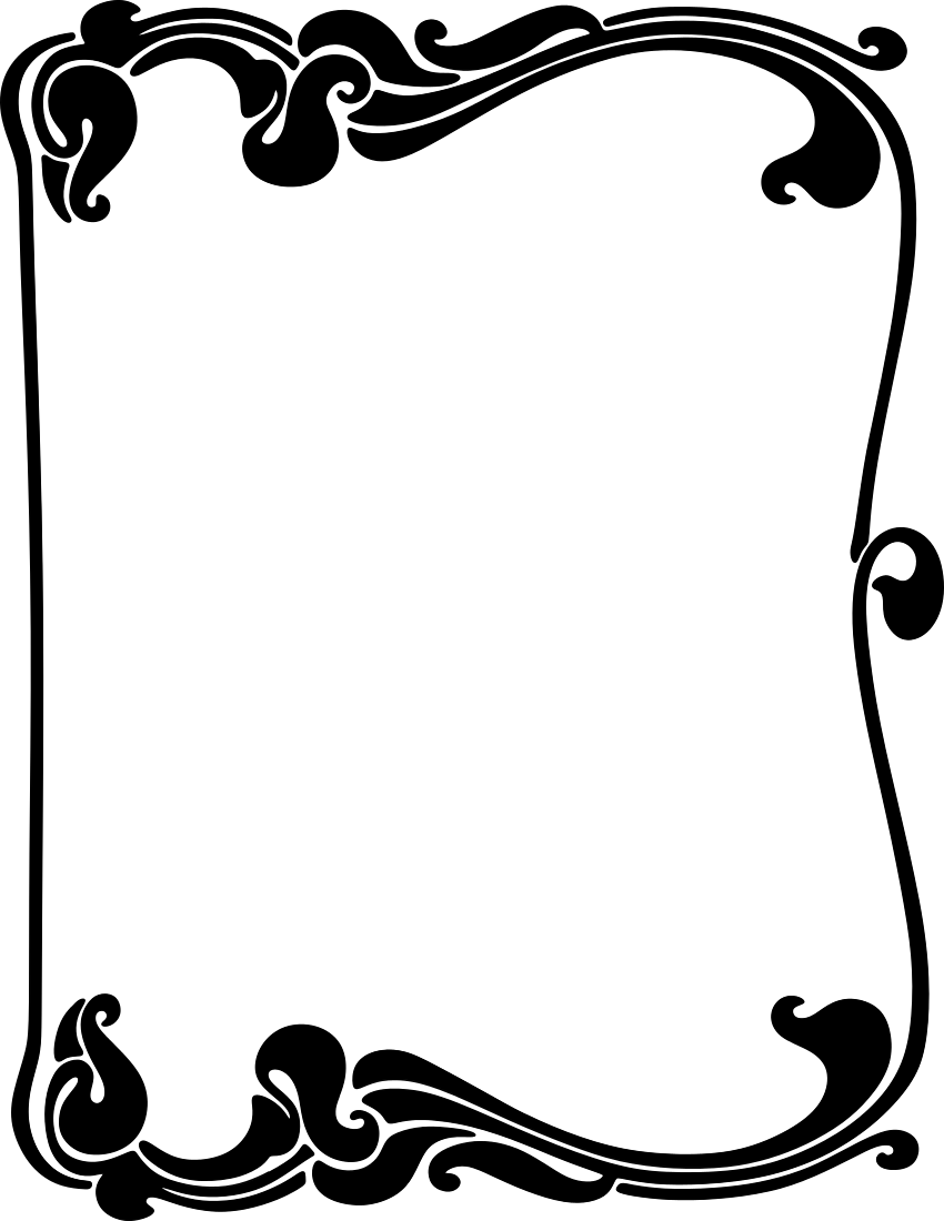 art nouveau border bookplates and inspiration for pinterest rh pinterest com art deco clip art designs art nouveau clip art free