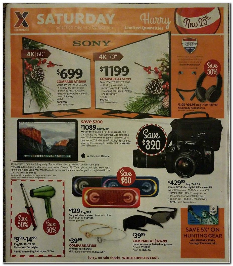 AAFES Black Friday 2017 Ads and Deals Get all of the