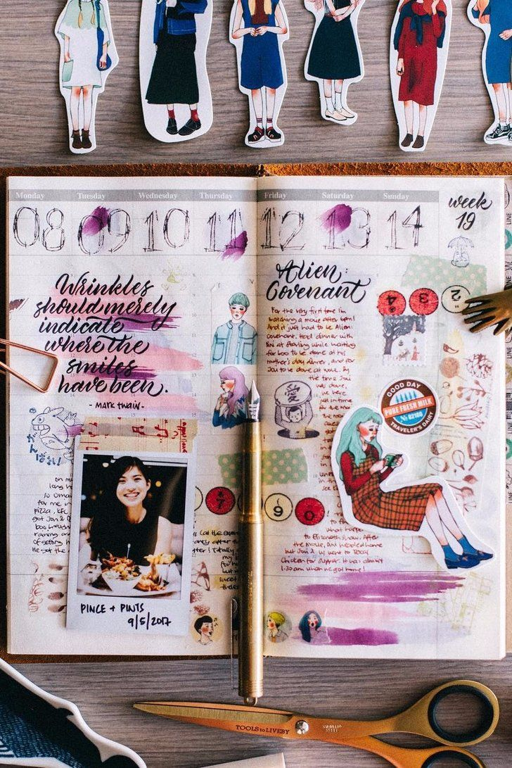 22 DIY Travel Journal Ideas That Will Inspire You to Make Your Own is part of Diy Travel Journal Ideas Popsugar Smart Living - Keeping a travel journal is a great way to document and remember all of your adventures in one place  You can scrapbook instant photos, maps, brochures,