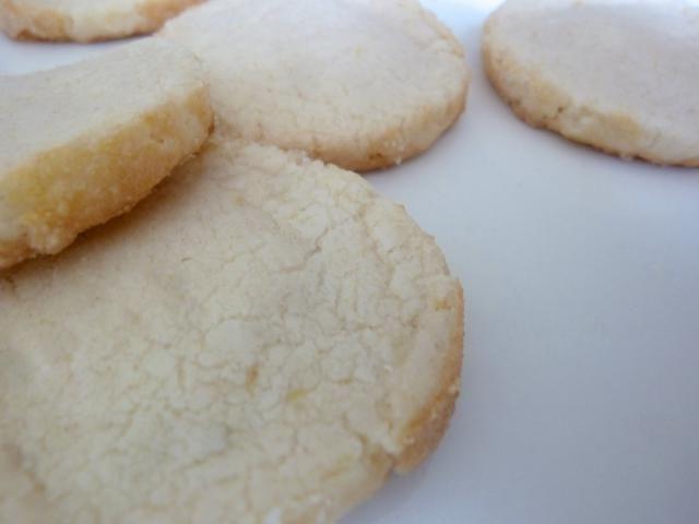 Marzipan vanilla lemon German slice and bake cookies: German Sand Cookies (Echte Heidesandplätzchen)