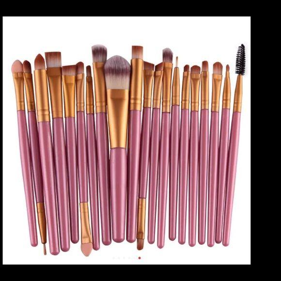 New 20pcs makeup brushes set Hot Sale! Professional 20Pcs Makeup Brush Sets Tools Cosmetic Brush Foundation Eyeshadow Eyeliner Lip Brush Make Makeup Blush