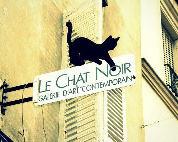Le Chat Noir Art Gallery In Paris Le Chat Noir Contemporary Art Gallery Chat Noir