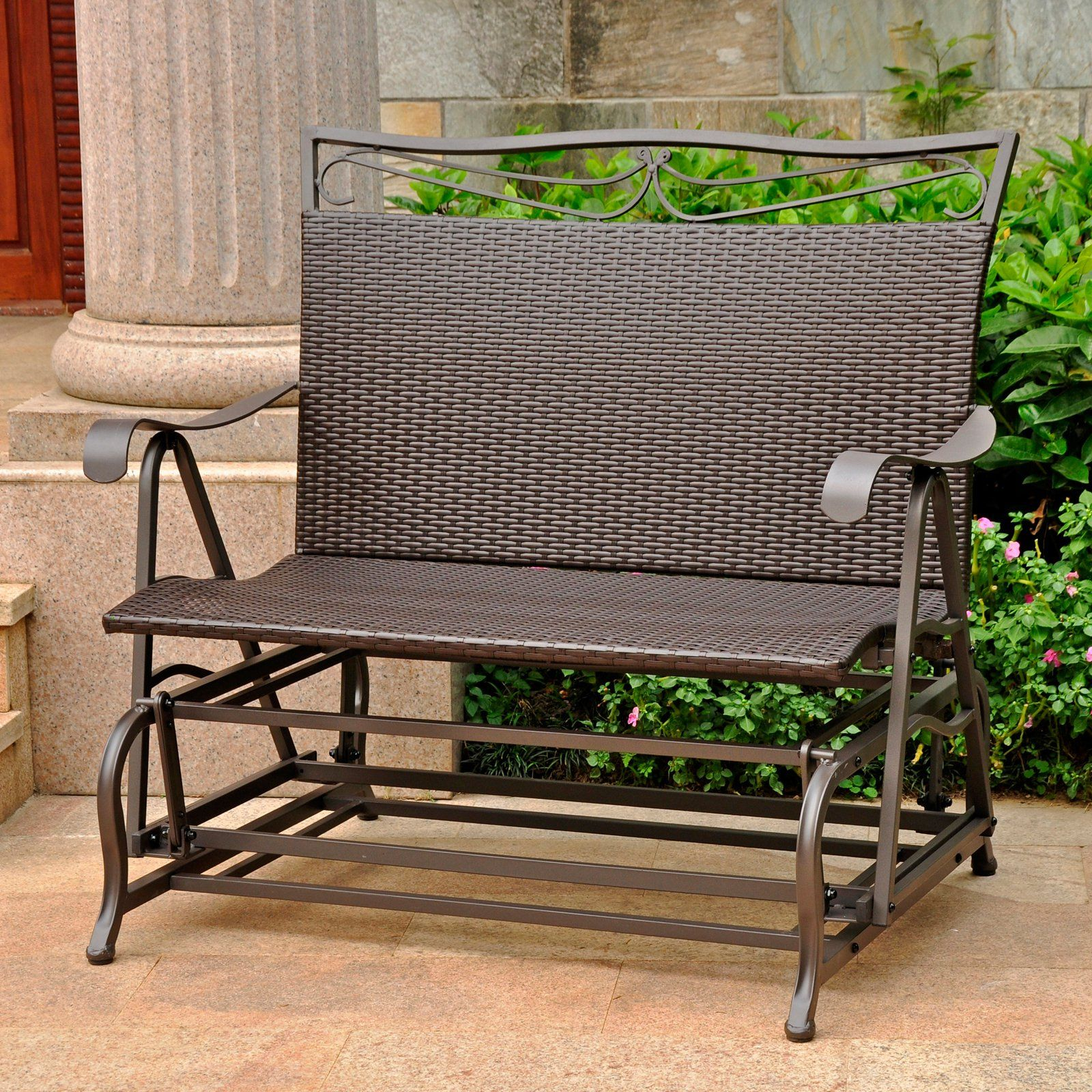 Outdoor Patio Glider Rocker Home Design Ideas