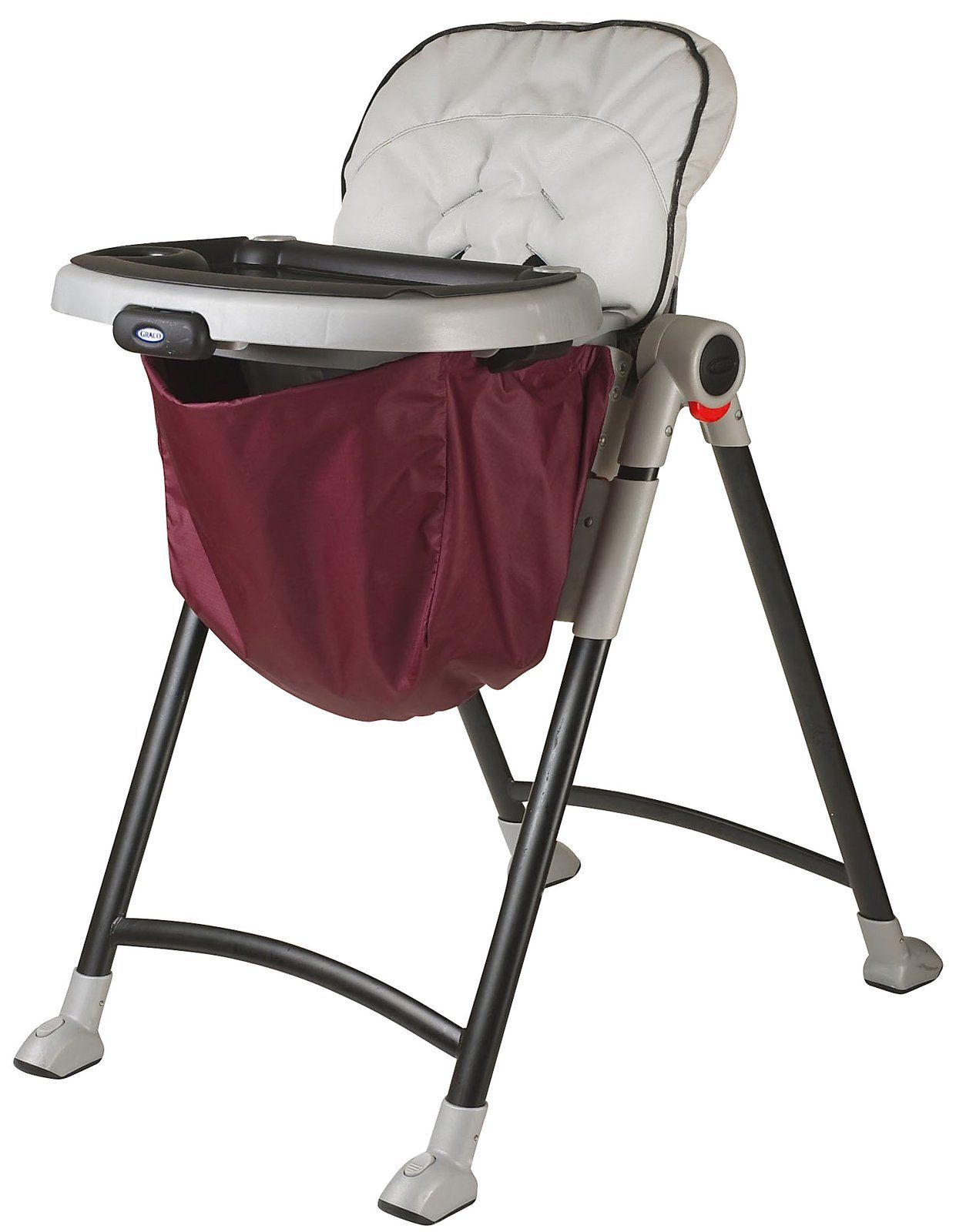 diapers Nursery Wupzey High Chair Food Catcher Cranberry Best