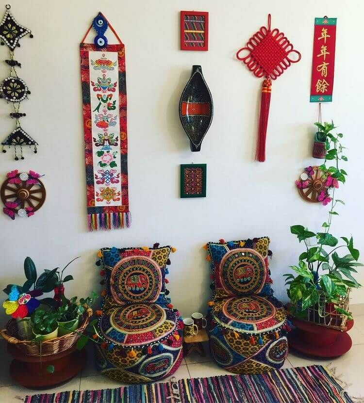 80+ Ideas for Boho Style Furniture and Decor   Hippie Boho Gypsy is part of Boho style furniture - Put on a kaftan, fire up some tea and get propelled by these present day looks  The boho style décor and furniture has changed significantly throughout the…