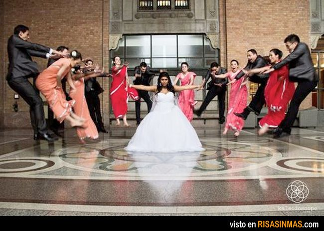 fotos de boda originales matrix