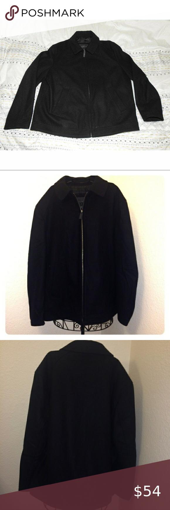 Men S Covington Black Jacket Large Men S Covington Black Jacket Large Covington Jackets Coats Black Jacket Clothes Design Jackets [ 1740 x 580 Pixel ]