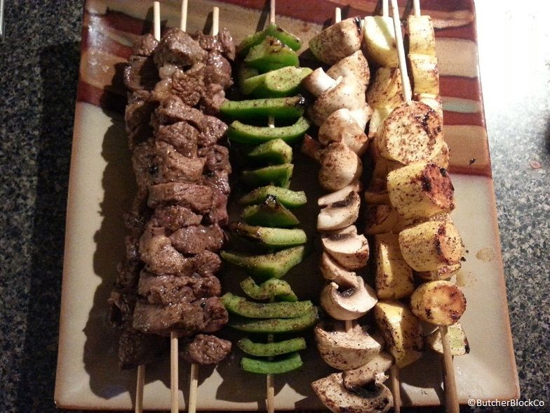 Fun Food. Build-Your-Own-Kabobs