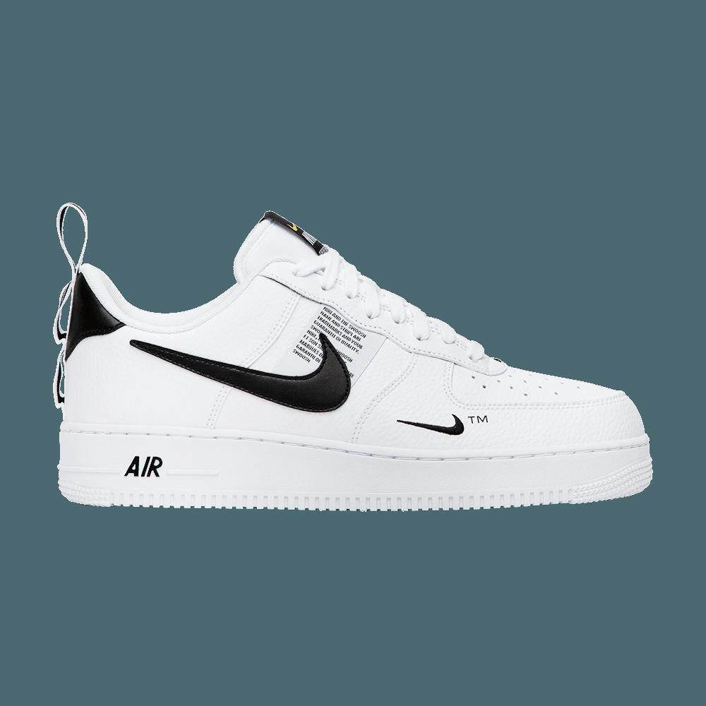 Air Force 1 07 Lv8 Overbranding Nike Aj7747 100 Goat Sneakers Air Force Nike Air Force