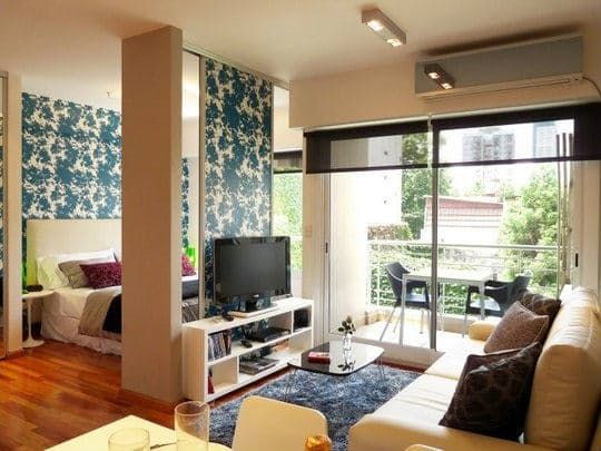 How to Use a TV as a Room Divider Pinterest Apartment therapy