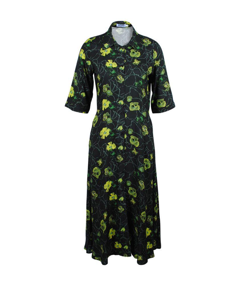 Helder Kleid Mohnprint Dafina Online Kaufen Kleider Modestil Hemdblusen