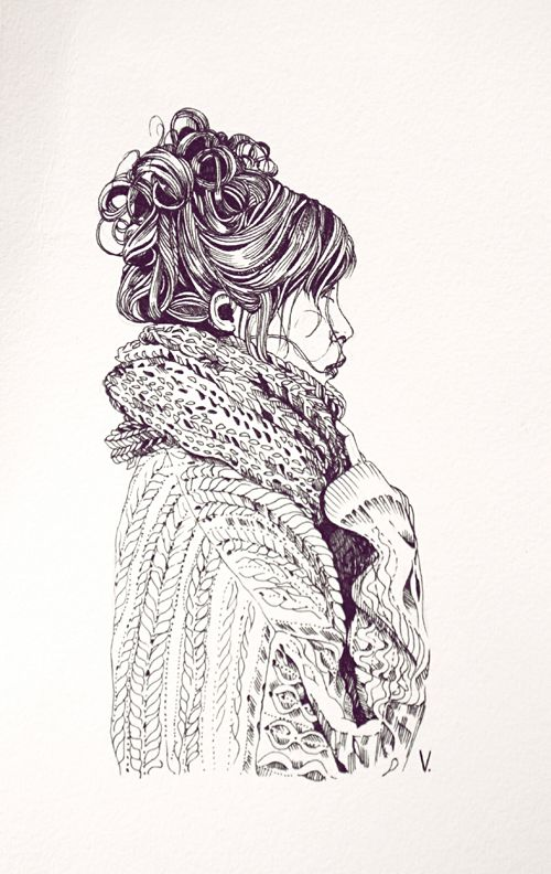 1000drawings - by  Veronica Algaba