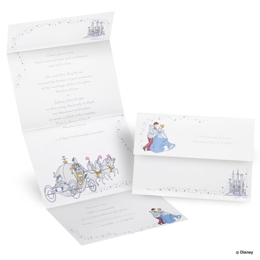 Disney to the ball seal and send invitation cinderella disney disney to the ball seal and send invitation cinderella invitations by dawn junglespirit Gallery