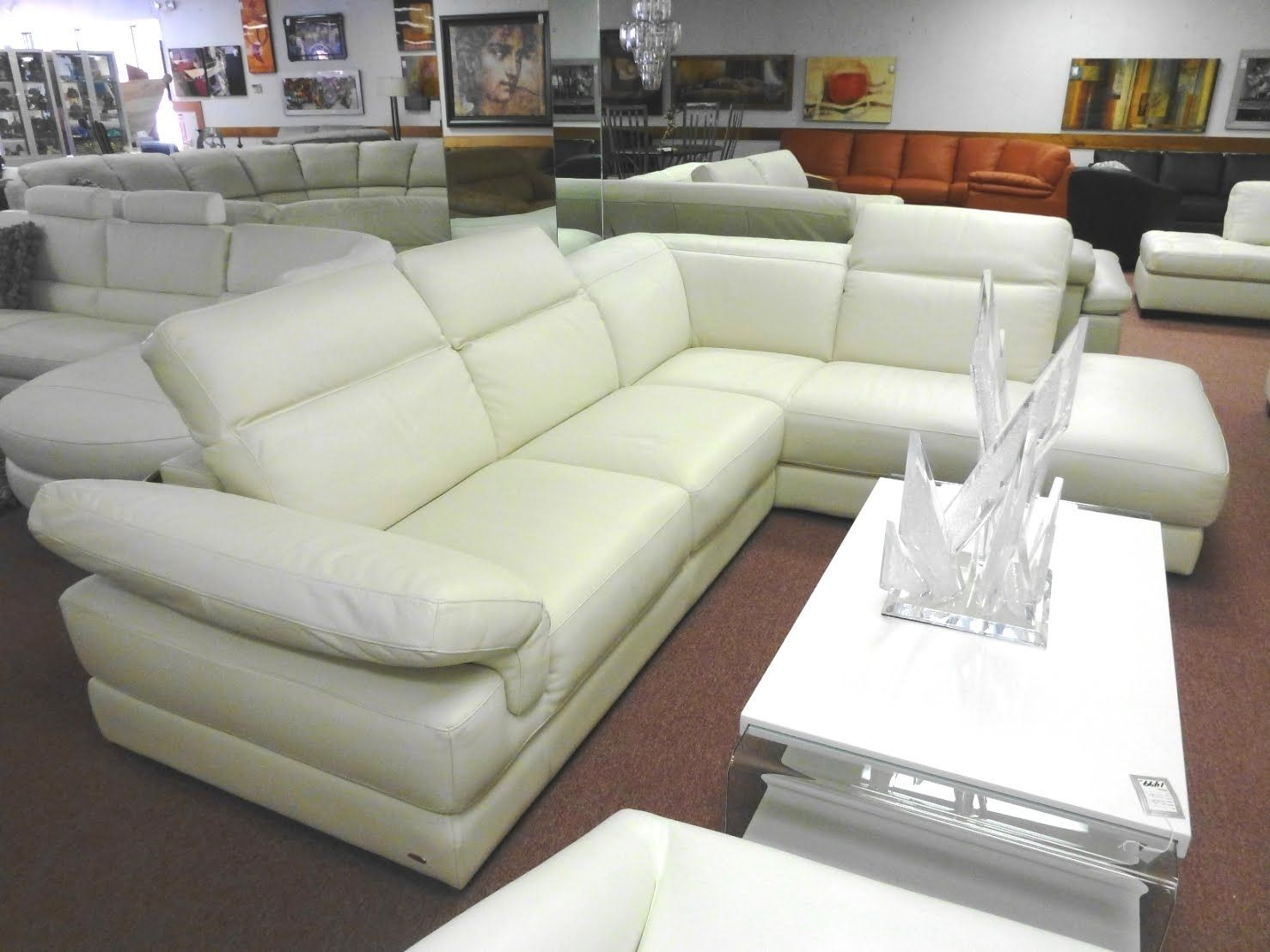 Leather Sofa Sectional Sofas