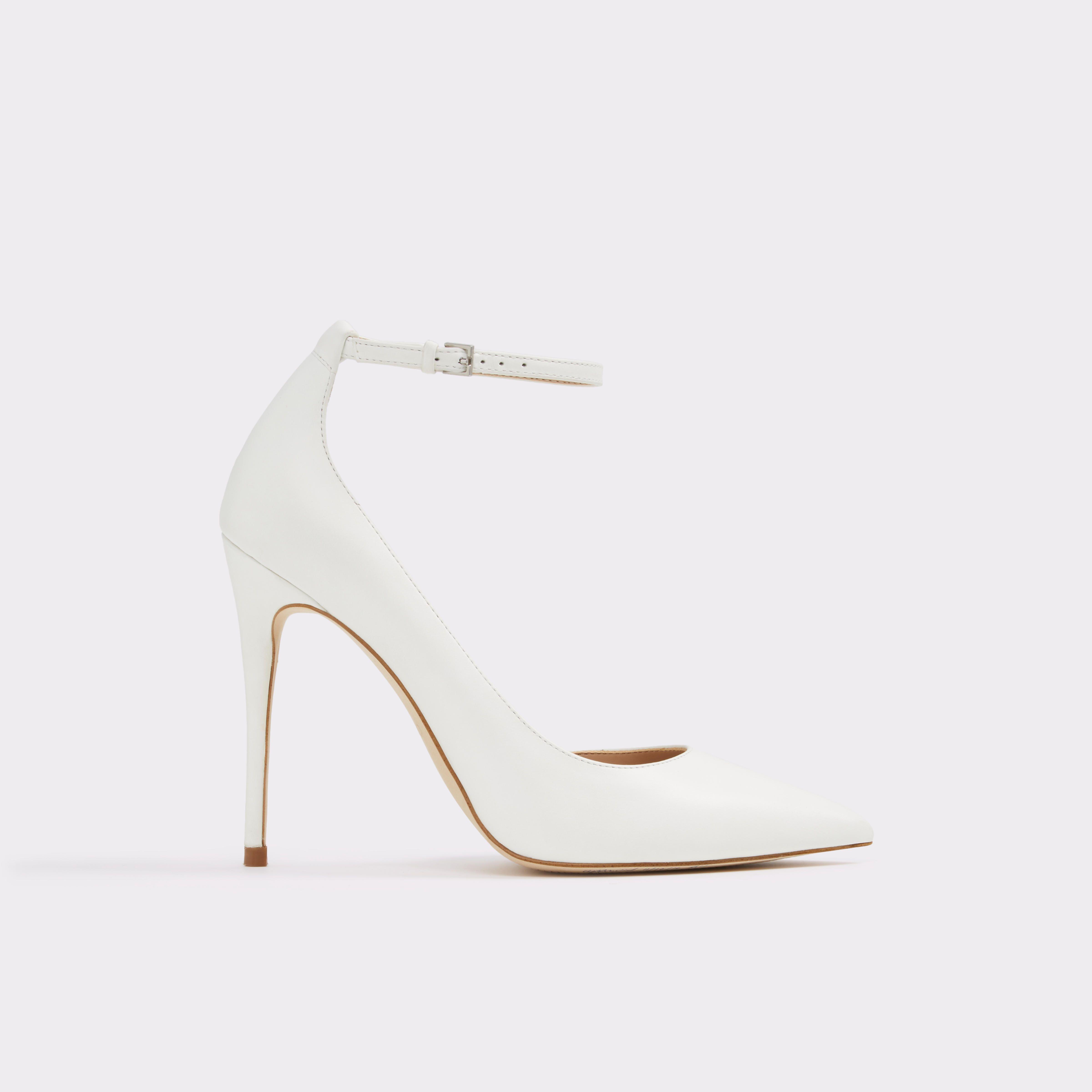 Staycey White Women's Pumps | ALDO US | Heels, Wedding shoes