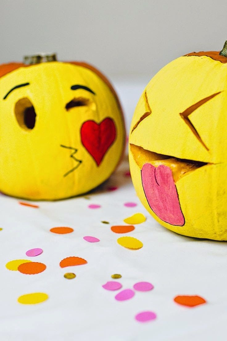 Tuesday trend emoji party ideas pumpkins ideas and parties