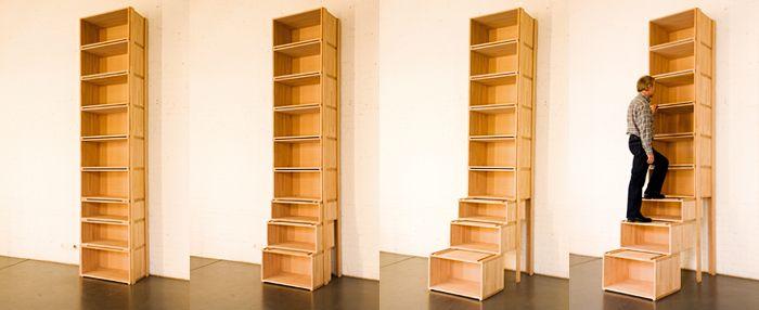 treppenregal diy treppen regal m bel und regal. Black Bedroom Furniture Sets. Home Design Ideas