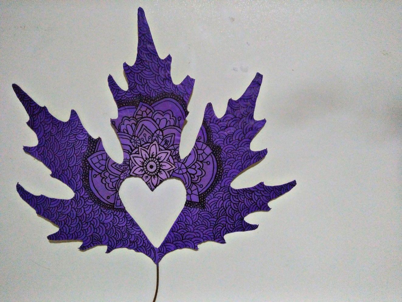 Ceydari Yaprak Boyama Mandala Maple Leaf Tattoo Leaf Tattoos Art