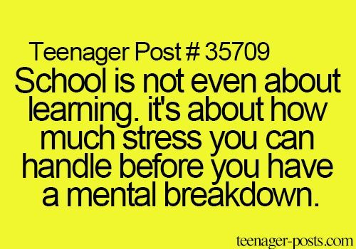 i hate school quotes   Google Search | School | Hate school quotes