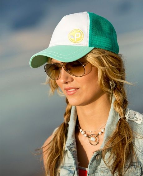 The Top Hat Styles And Trends For Women Baseball Hat Hairstyles Hat Hairstyles How To Wear A Trucker Hat