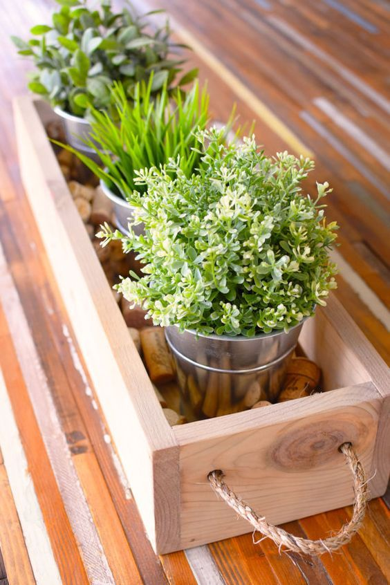 20 Amazing Rustic Wooden Box Centerpieces You Will Fall In Love With images