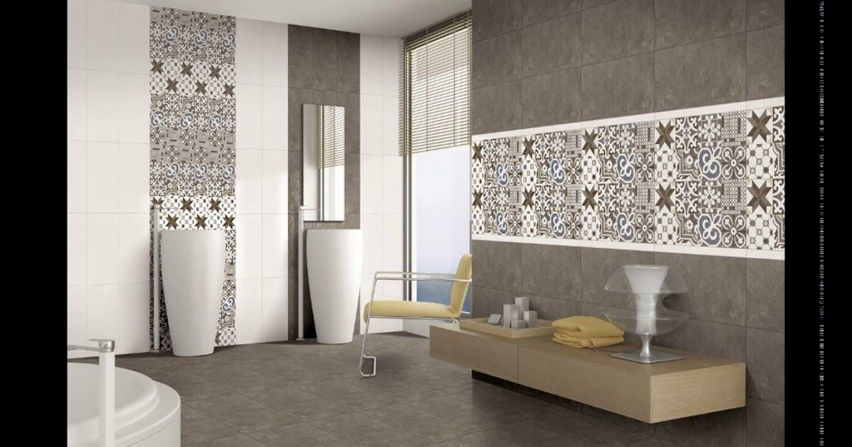 New Model Bathroom Tiles Images In 2020 Bathroom Tile Designs