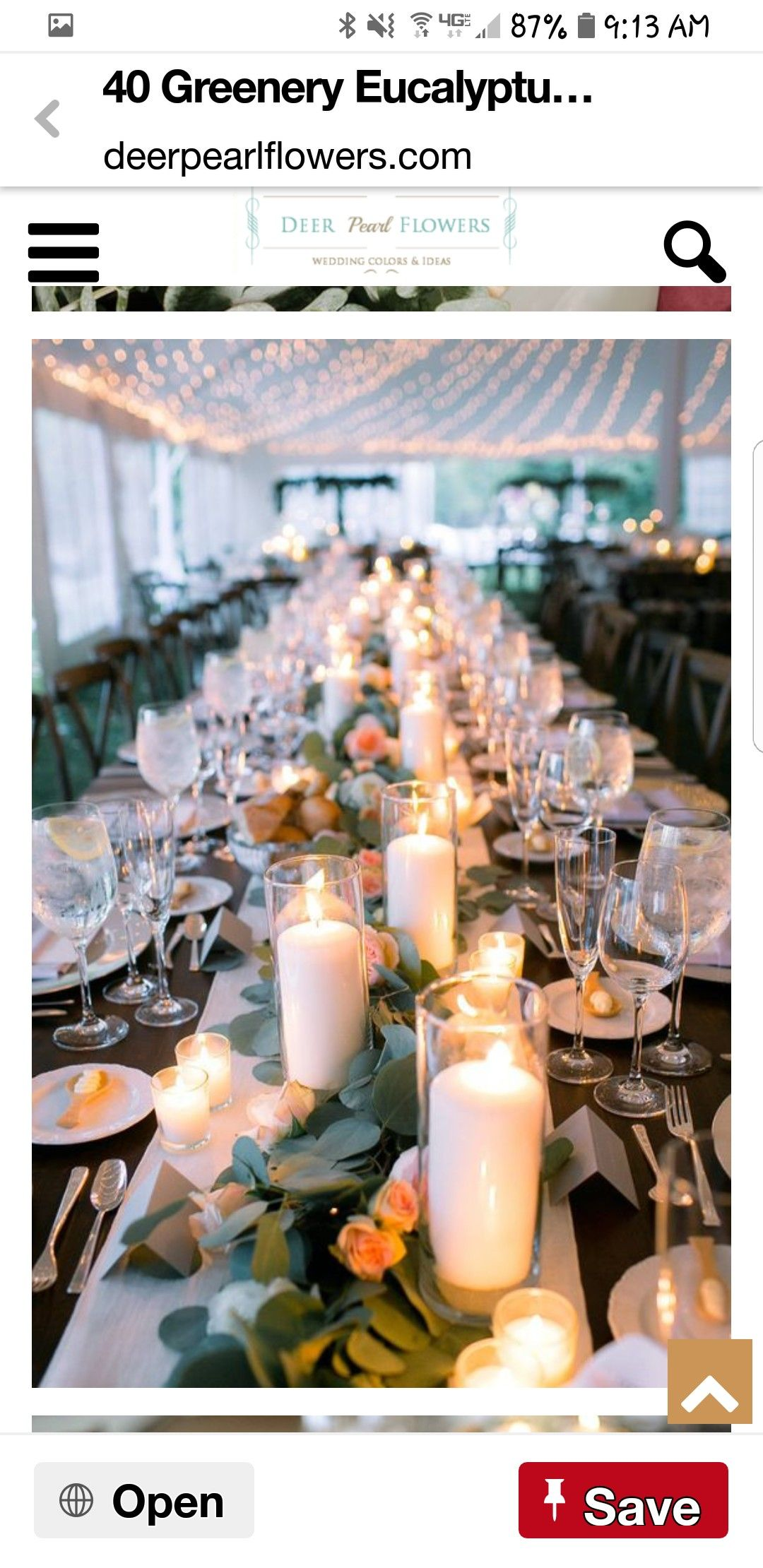 Wedding decorations table october 2018 Pin by Sarah Symington on Wedding ideas in   Pinterest