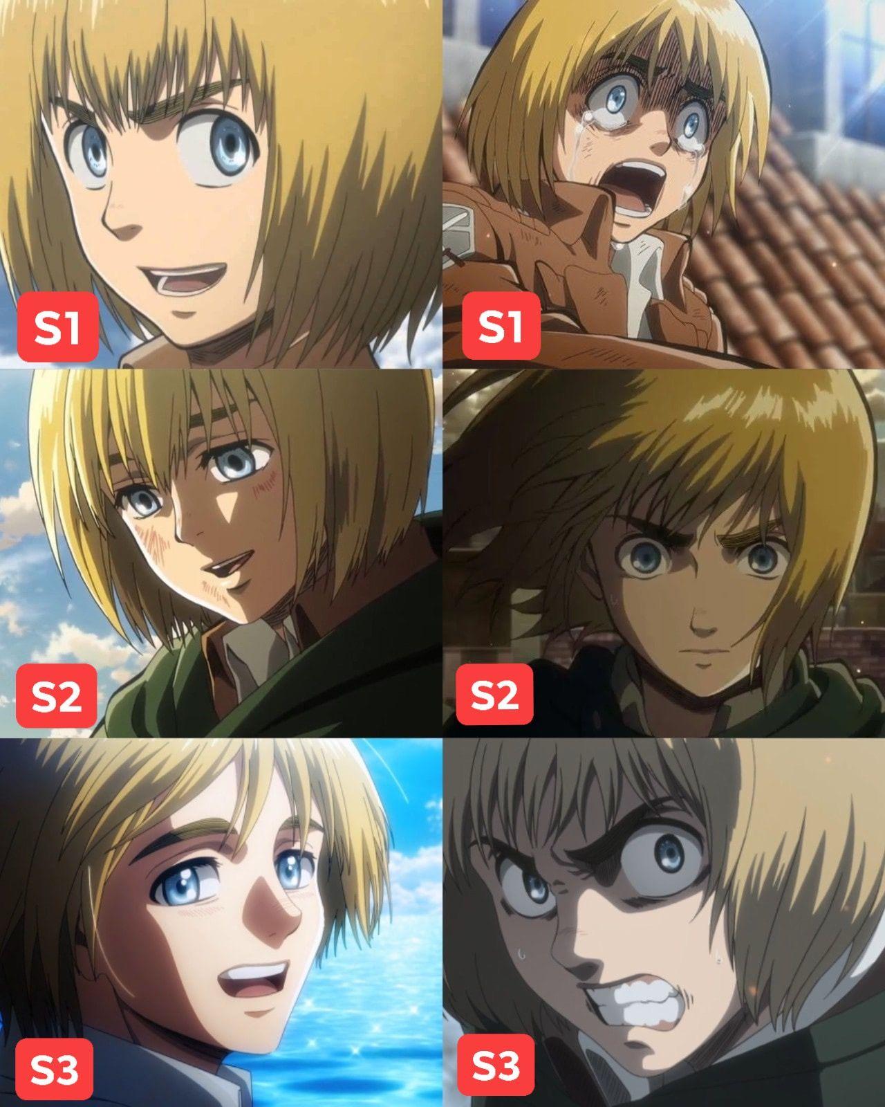 """Armin Arlert"" Attack on Titan [Season 1 & Season 3"